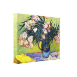 Still Life with Oleander by Vincent van Gogh Gallery Wrapped Canvas