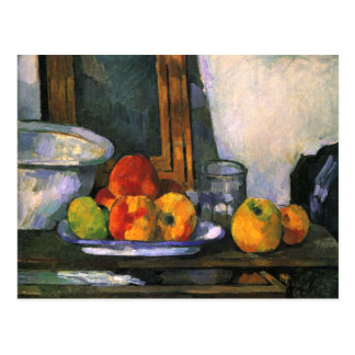 Still Life with Open Drawer by Cezanne Postcard