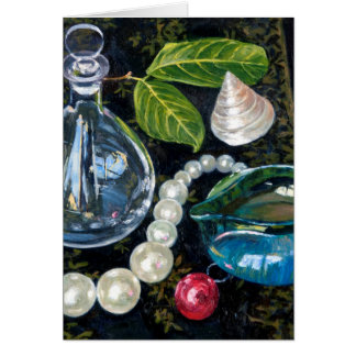 Still Life with Pearls Card