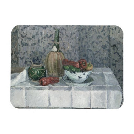 Still Life with Peppers, 1899 (oil on canvas) Magnet
