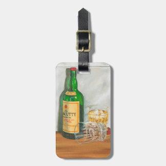 Still Life with Scotch by Jennifer Goldberger Luggage Tag