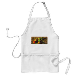 Still Life With Seven Apples By Paul Cézanne Apron