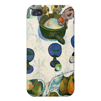Still Life with Three Puppies, Paul Gauguin iPhone 4 Covers