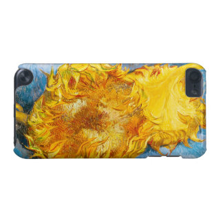 Still Life with Two Sunflowers by Vincent Van Gogh iPod Touch (5th Generation) Cases
