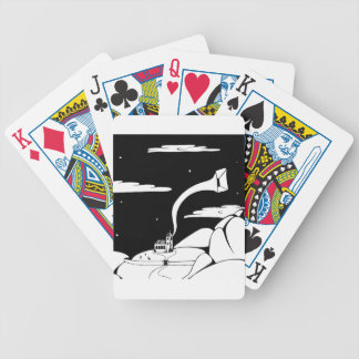 Still Listening Bicycle Playing Cards
