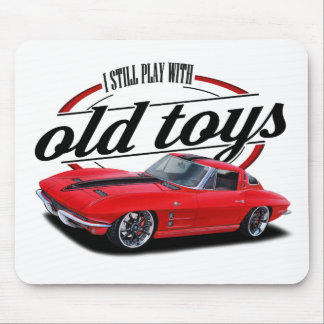 Still plays with corvettes mouse pad