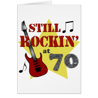 Still Rockin' At 70 Card