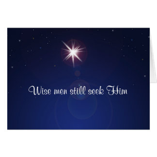 """Still Seeking"" Christmas Card"