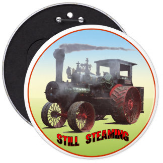 Still Steaming Traction Engine Button