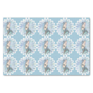 Still Waters Mermaid Mother and Infant Baby Shower Tissue Paper