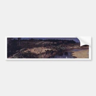 Stille By Lewitan Isaak Ilitsch (Best Quality) Bumper Sticker