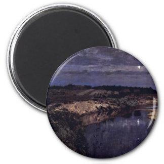 Stille By Lewitan Isaak Ilitsch (Best Quality) Magnet