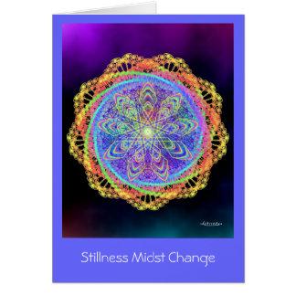 Stillness Midst Change Card