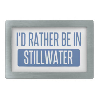 Stillwater Rectangular Belt Buckle