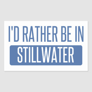 Stillwater Rectangular Sticker