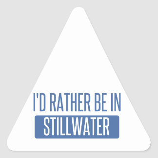 Stillwater Triangle Sticker