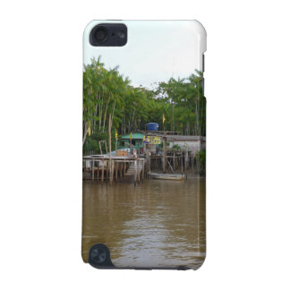 Stilt houses on Amazon river iPod Touch (5th Generation) Covers