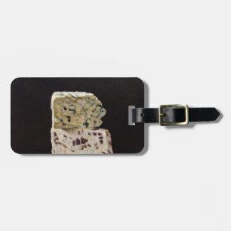 Stilton Cheese Stack Luggage Tag