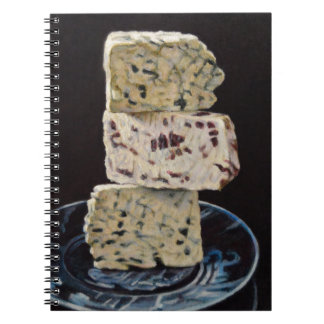 Stilton Cheese Stack Notebook