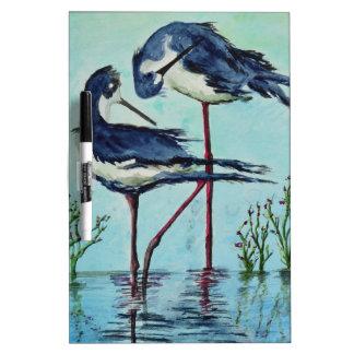 Stilts Bathing - Painting Dry Erase Whiteboard