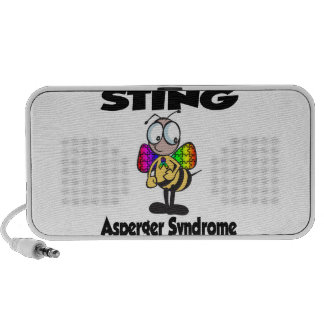 STING Asperger Syndrome Notebook Speakers