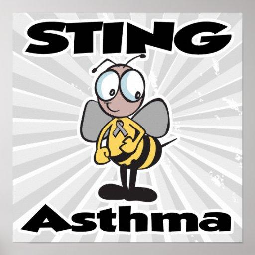 STING Asthma Print