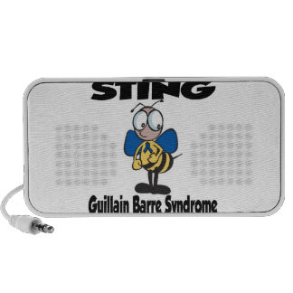 STING Guillain Barre Syndrome iPod Speakers