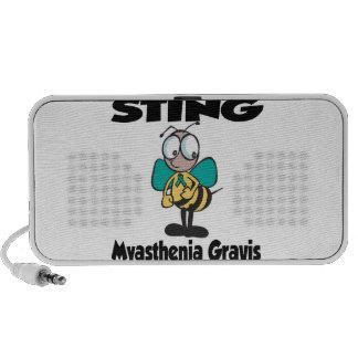 STING Myasthenia Gravis iPod Speakers