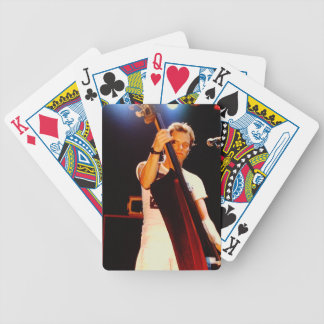 Sting Playing The Cello Bicycle Playing Cards