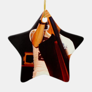 Sting Playing The Cello Ceramic Ornament