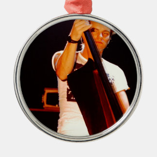 Sting Playing The Cello Metal Ornament