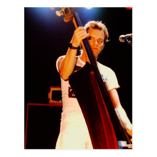 Sting Playing The Cello Postcard