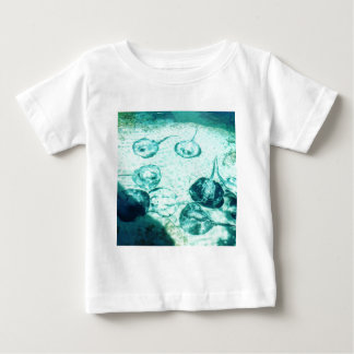 Sting rays in Xcaret - Mexico Baby T-Shirt