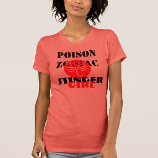 Stinger Girl Zodiac Fine Jersey Message Tshirt