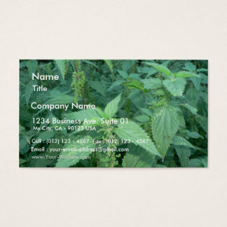 Stinging Nettles Business Card