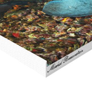 Stingray 2 - Canvas Canvas Print