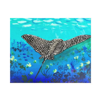 Stingray Canvas Print