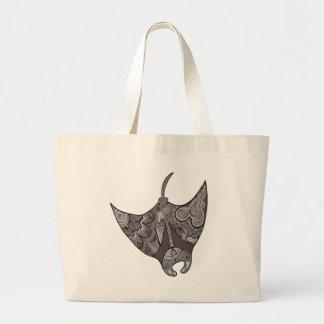 Stingray Large Tote Bag
