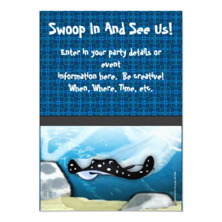 Stingray (Manta Ray) Card