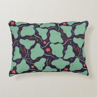 Stingrays Pattern Decorative Cushion