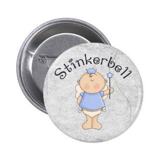 Stinkerbell 6 Cm Round Badge