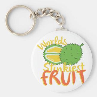 Stinkiest Fruit Key Ring