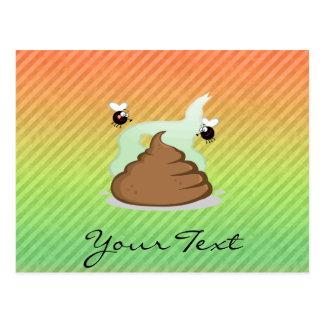 Stinky Poo design Postcard