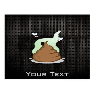 Stinky Poo; Grunge Postcard