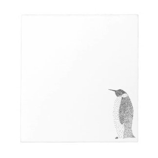 Stippled Penguin Notepad