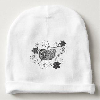 Stippled Pumpkin Baby Beanie