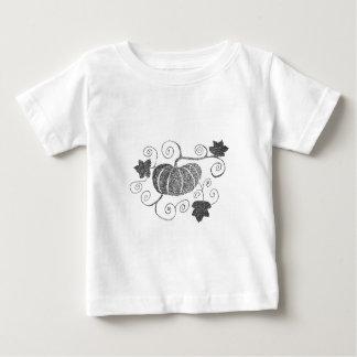 Stippled Pumpkin Baby T-Shirt