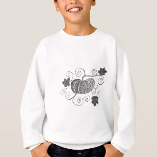 Stippled Pumpkin Sweatshirt