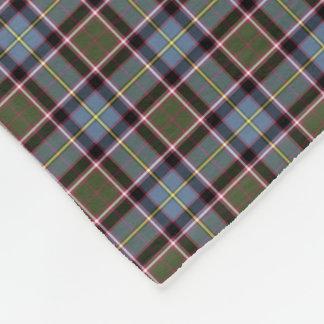 Stirling and Bannockburn Scotland District Tartan Fleece Blanket