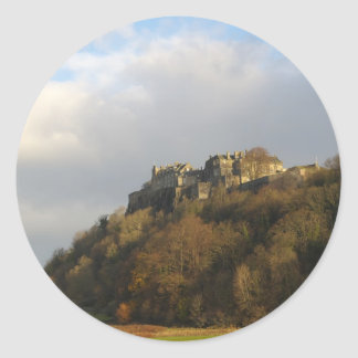 Stirling Castle Classic Round Sticker
